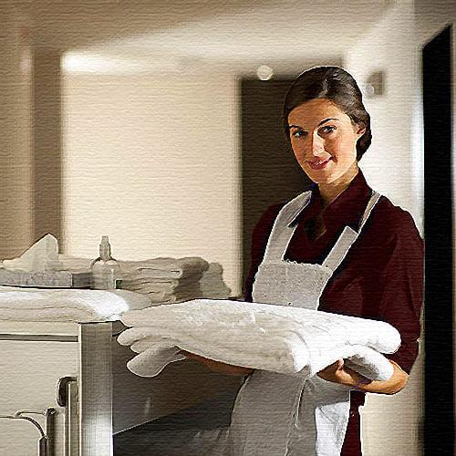 Домработница, помощница по хозяйству.